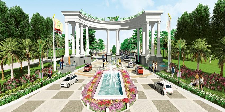 Dự Án Five Star Eco City, Phước Lý Cần Giuộc Long An