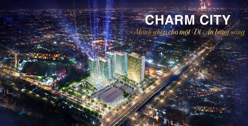 phoi canh du an charm city binh duong