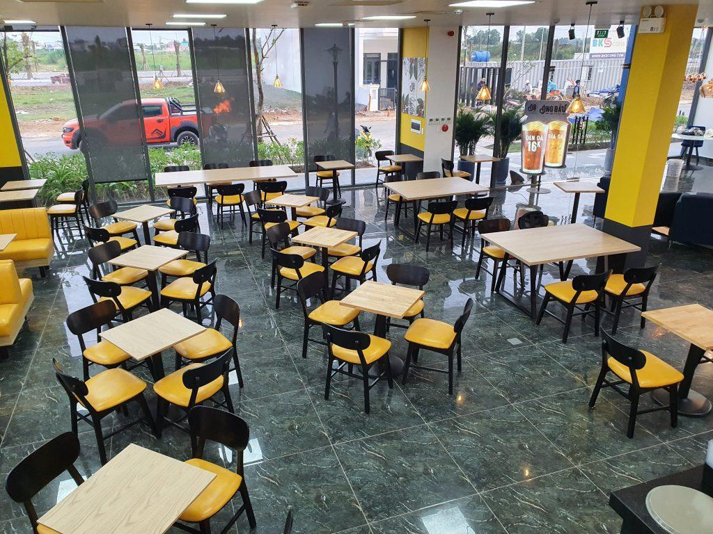 Không gian CAFE Ông Bầu trong dự án