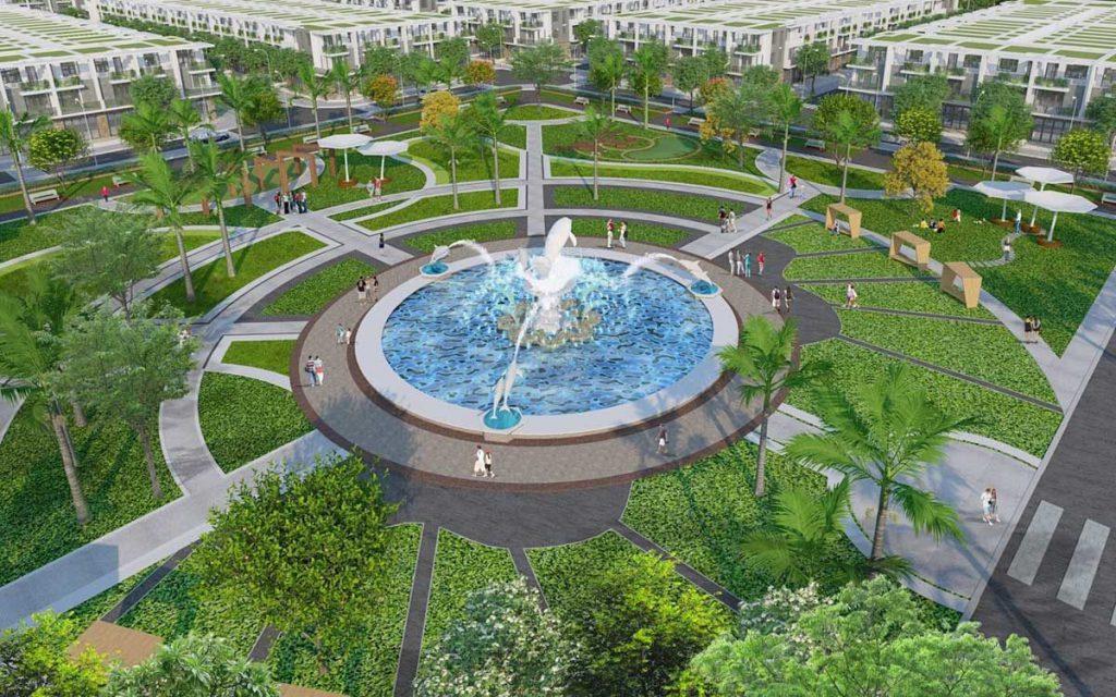 Quảng trường trung tâm dự án Hiệp Phước Harbour View