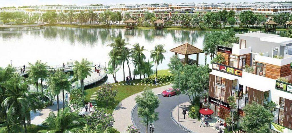 Hồ điều hòa dự án An Phú Long Garden