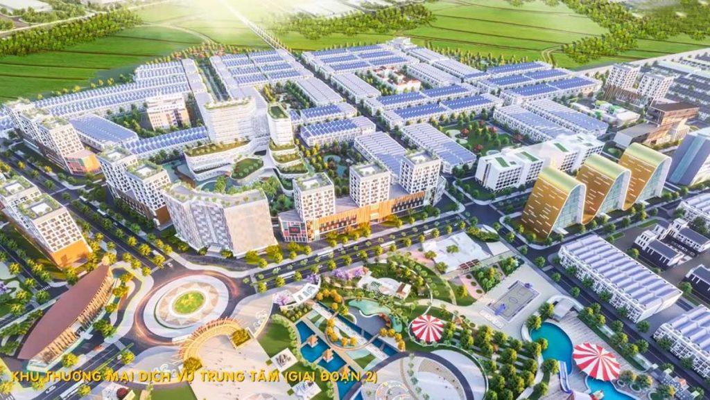 Khu trung tâm thương mại dịch vụ An Phú Long Garden