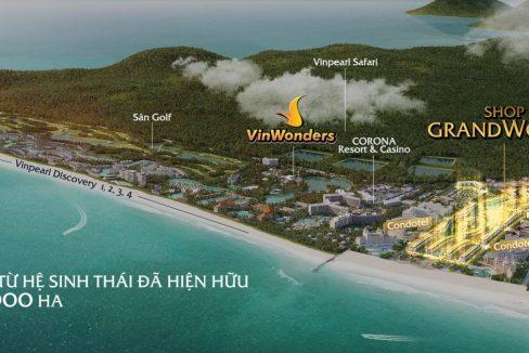 Toàn cảnh Vinpearl Grand World Phú Quốc