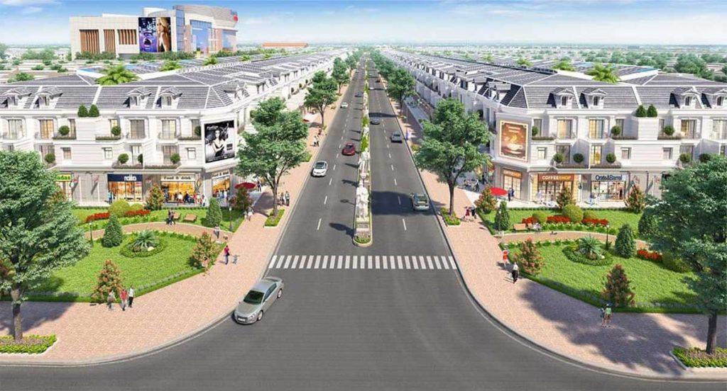 Trục giao thông chính nội khu An Phú Long Garden