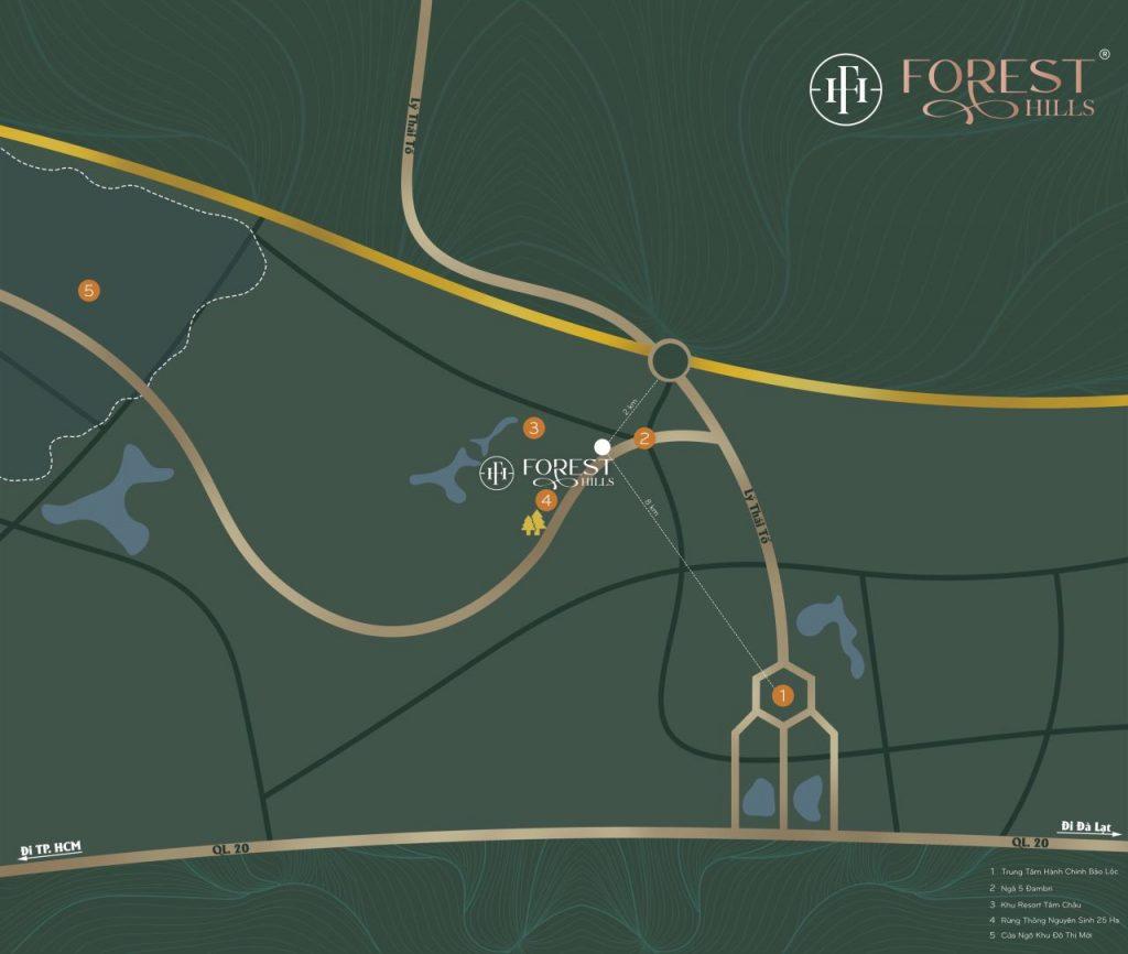 Vị Trí Khu Dân Cư Forest Hills