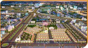 Sơ đồ phối cảnh dự án Victory City Bình Dương