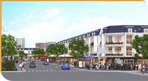 Trung tâm thương mại dãy shophouse Victory City Bình Dương